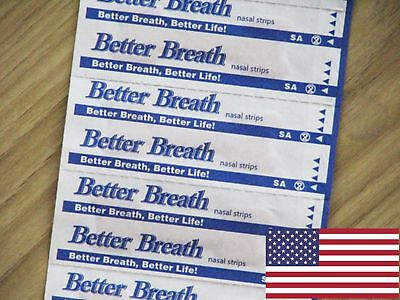 120Pcs Better Breath Freely Nasal Strips Med/large Right Aid To Reduce Snoring