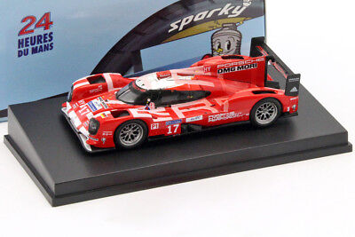 Porsche 919 Hybrid #17 2nd 24h LeMans 2015 Bernhard, Hartley, Webber 1:64 Spark