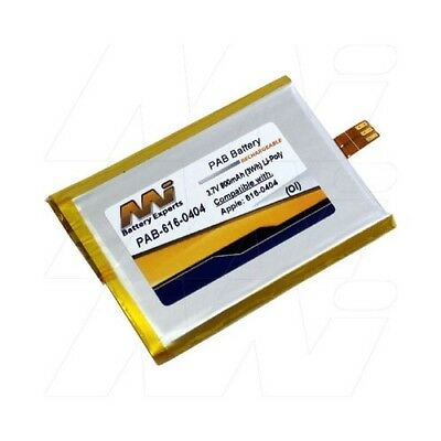 Apple iPod Touch Battery - Suits 616-0404