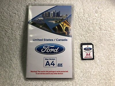 A Ford Lincoln Fusion Edge Explorer F Gps Navigation Sd Card Map Update