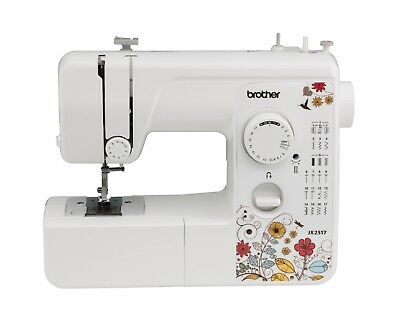 Brother Portable 17 Stitch Sewing Machine Buttonhole Novice Crafts Electric Home