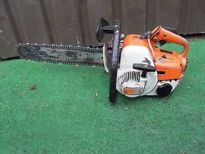 "STIHL 08S CHAINSAW  Petrol  21"" Bar & Chain refla"