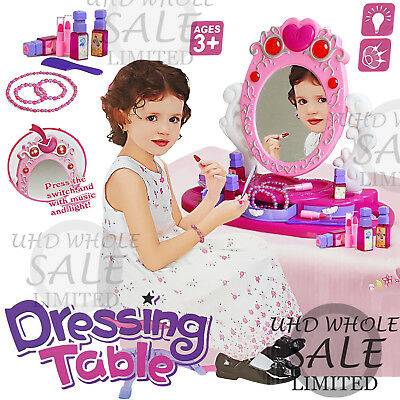 Girls Princess Mirror Dressing Children Toy Kids Role Play Make Up Gift Xmas