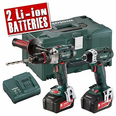 METABO COMBOSET 2.1.6 18v Cordless Heavy Duty Li-ion 2 Piece Pack