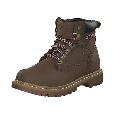 02a642e2b553 Caterpillar Cat Willow Damen Stiefel Boots Winterstiefel P305059 Braun Neu