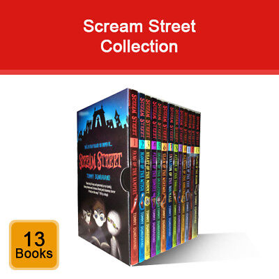 Scream Street 13 Books Collection Box Set by Tommy Donbavand pack NEW