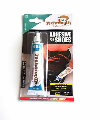 Technicqll R-341 ADHESIVE GLUE FOR SHOES LEATHER RUBBER FELT NYLON LEATHERETTE
