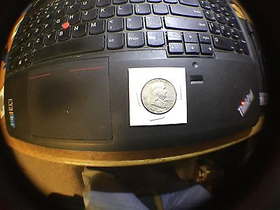Franklin Half Dollar 90 % silver coin- special value ***