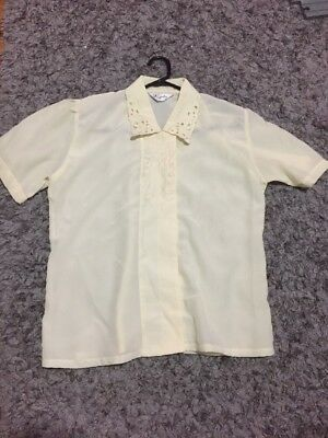 Vintage Blouse - Embroided