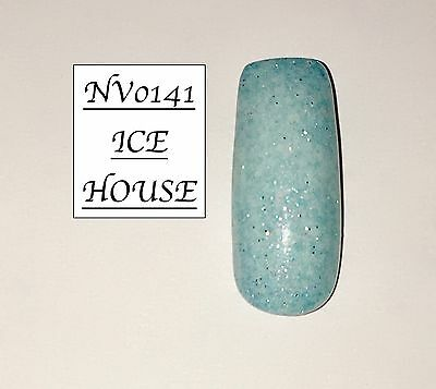 Ice House Glittered Acrylic Powder 10G Bag Please See Description