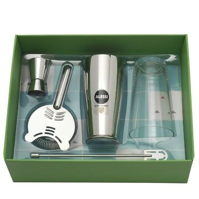 Alessi Boston-Shaker Bar Set im Geschenkkarton - 5050SET