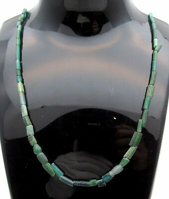 Viking Glass Beaded Necklace - Very Rare Wearable Artifact Fantastic - P684