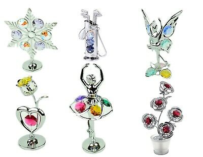 Crystocraft Swarovski Strass Crystal Ornament Keepsake Collection with Gift Box