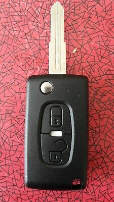 for PEUGEOT 4007 4008 REMOTE KEY FOB 2 BUTTONS MIT8 BLADE