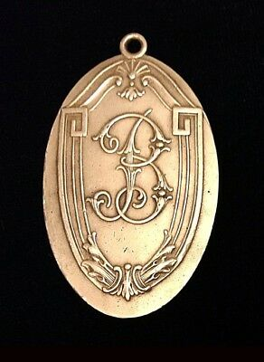 VTG. BILTMORE HOTEL LOS ANGELES CA. Brass Room Key FOB Collectable,Rare 1930s
