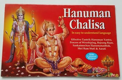 Hanuman Chalisa Aarti Yantara Evil eye protection shield Good Luck book English