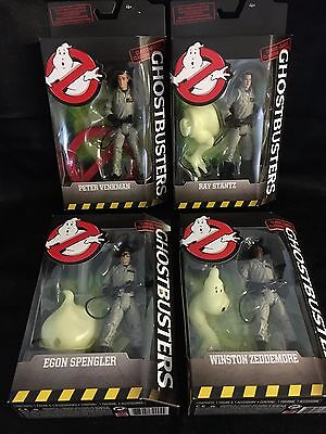 Ghostbusters Classic PETER RAY EGON WINSTON Set of 4 Figures Mattel NEW