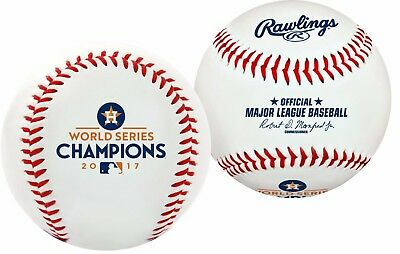 2017 World Series Houston Astros Champions Collectible New In Stock Baseball