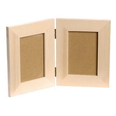 Knorr Prandell Bare Wood Picture Frame - Double Hinged #711