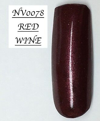 Red Wine Acrylic Powder 10G Bag Many More Colours See Description