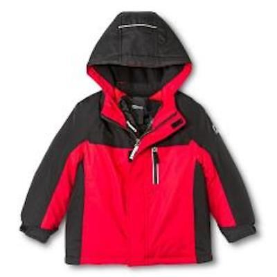 ZeroXposure Toddler Boy's 3-in-1 Systems Snow Jacket - Red- (J14010T) 3T - 5T