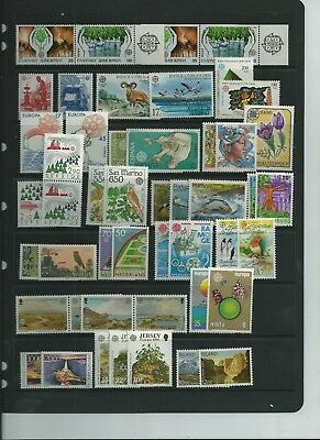 Europa Sets For 1986 All Superb Mnh Looks Complete