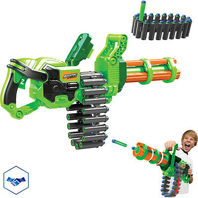 MACHINE GUN GATLING CANNON BLASTER Tactical Game Kids Rifle Toy Mega Fun