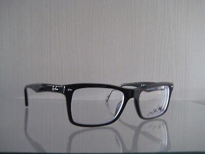 Brille Eyeglasses Brillenfassung Ray-Ban RB 5287 Gr. 52/18 shiny black