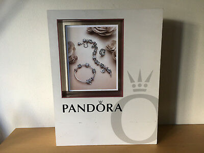 Used - Display PANDORA Expositor - Reversible - Wood and Plastic - Usado