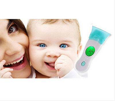 New Digital LCD Infrared Thermometer Ear & Forehead 8 in 1 for Baby Child Family
