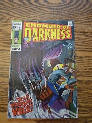 CHAMBER OF DARKNESS #1 VF, John Buscema art, Marvel Horror Comics 1969