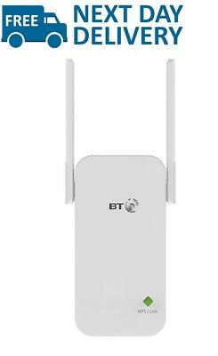 BT WiFi Signal Booster Broadband Range Extender Adapter Fast Wireless Connection