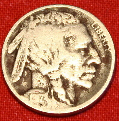 1917-D Buffalo Nickel Vg Nice Date / Coin Collector Gift Bn294