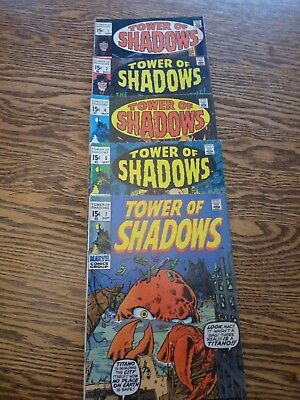 Tower of Shadows lot #1, 2,4,5,7