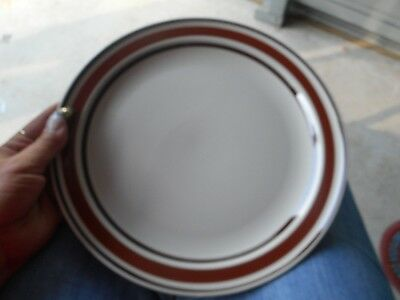 Vintage Catalinastone Catalina Sienna Dinner Plate Lot of 4