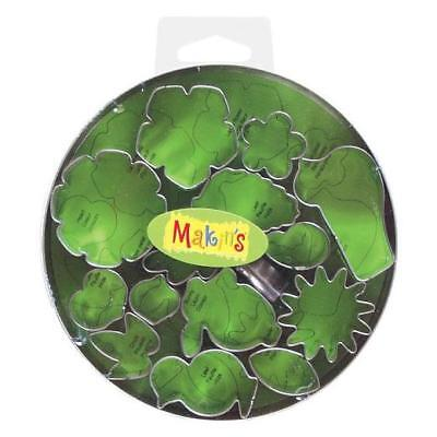 Makin's Clay & Sugarcraft Cutters Set - Flowers & Leaves