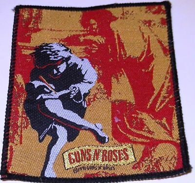 "Guns N' Roses -  ""use Your Illusion I"" 1991 - Vintage !!  Patch - Free Shipping"