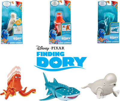 Disney Pixar Finding Dory Feature Figure Bailey Hank Destiny Fun Nemo Toy Fish