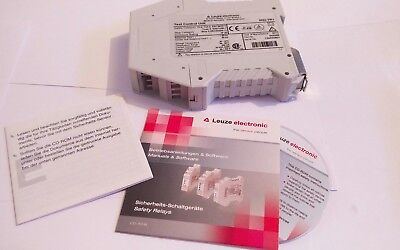 Leuze electronic Sicherheits Relais Test Control Unit MSI-TR1 24VDC 2A/250V