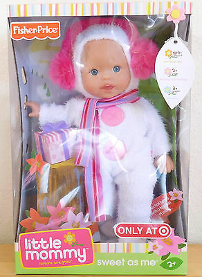 """Snow Day"" Exclusive Sweet As Me 2008 Retired Little Mommy Doll Fisher Price NEW"
