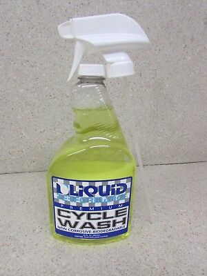 New Liquid Performance Premium Motorcycle Cycle Wash 32 Oz Honda Yamaha Kawa Suz