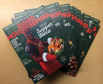 Good Housekeeping Magazine / Deadpool 2 Movie Variant / Holiday 2017 / Cable