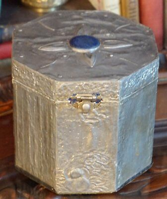 Vintage Metal Covered Wood Box