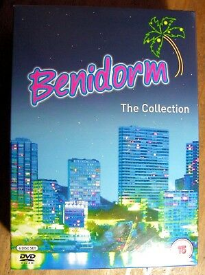 Benidorm Series 1-3 and The 2009 Special DVD Boxset New Sealed
