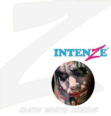 Intenze Ink 60ml Snow White Mixing Tattoofarbe Tattoo Farbe Tätowierfarbe Color