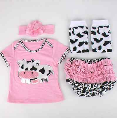 "Newborn Baby Clothes 22"" bebe Reborn Doll Girl Clothes, NOT Included Doll DE"
