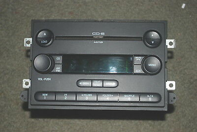 04 05 06 FORD F150 F-150 Truck Fusion Mustang Radio 6 CD DISC CHANGER Player OEM