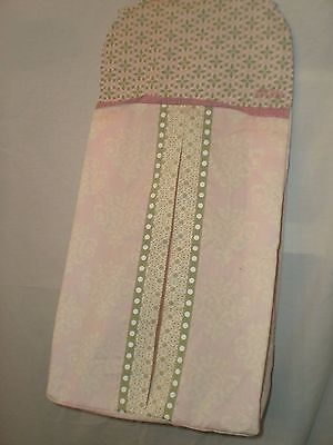 CoCaLo BELLA BABY DIAPER STACKER Pink Green Nursery Sorter Hanging Holder