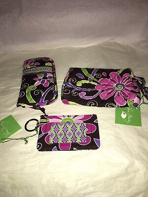 Vera Bradley Set In Purple Punch NEW