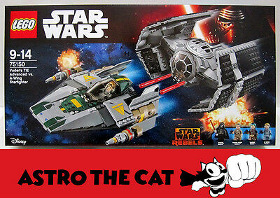 LEGO Star Wars 75150 Vader's TIE Advanced vs. A-wing Starfighter -10% off PILE10